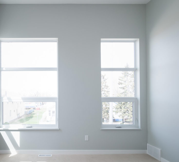 Windows in Bedroom